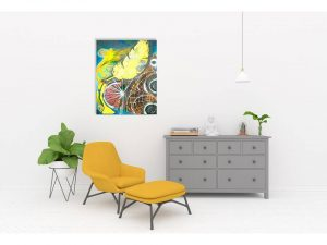 #3 Blütenphase 50x70