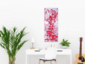#30 Frühlingsblüte 35x100